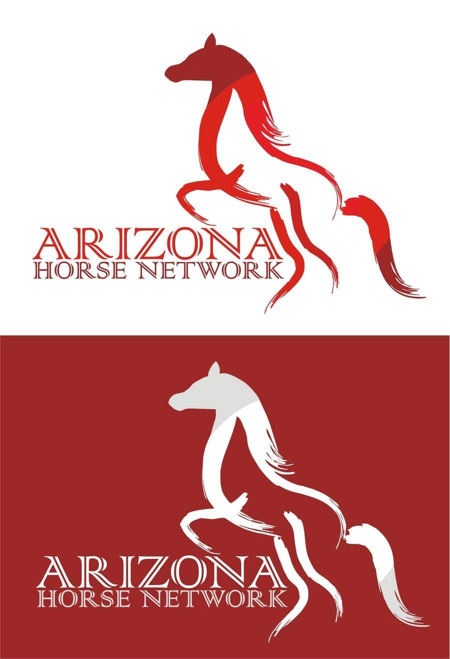 Kilpailutyö #31 kilpailussa Design a Logo for Arizona Horse Network