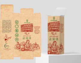 #29 for Packaging design contest for two different eco-friendly straws af AlbinaNova