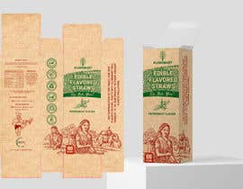 #36 for Packaging design contest for two different eco-friendly straws af AlbinaNova