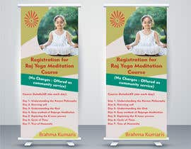 #18 for Standee design for meditation course registration by ShivamPancholi
