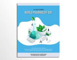 #8 untuk Create a poster for 'World Pharmacist Day 2021' oleh ajmalmuhd
