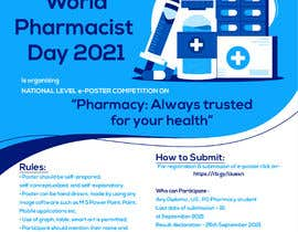 #13 untuk Create a poster for 'World Pharmacist Day 2021' oleh dimaemad