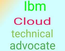 #35 untuk Infographic highlighting the target persona and value proposition of IBM Cloud Technical Advocate oleh singhamsafar