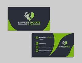 Nro 871 kilpailuun Business Card Design for Hair Company käyttäjältä Useful6923