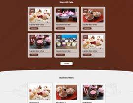 #76 cho Cupcake Company Responsive Website Template bởi svnmondalbd