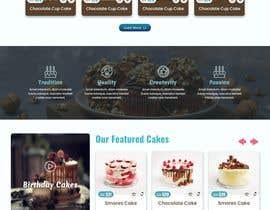 #70 cho Cupcake Company Responsive Website Template bởi mjmarazbd