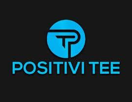 Nro 206 kilpailuun PositiviTee - logo design käyttäjältä jahidgazi786jg