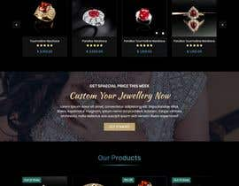 #103 for Design a website for selling rare gemstones and expensive jewelry by mjmarazbd