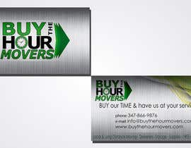 rathar tarafından Design some Business Cards for BUY the HOUR Movers için no 15