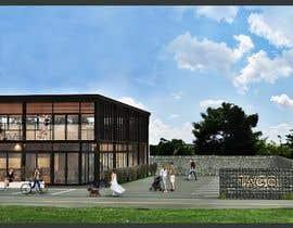 nº 23 pour Facade building - RESTAURANT par krizianik