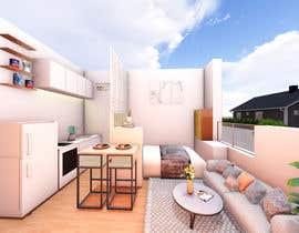 #52 for Floorplan for small studio af milonarchi