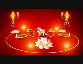 nº 13 pour Build a Video Diwali Background  - 4k Resolution - video should just be on loop for about 10 min duration par Parvathykumar89