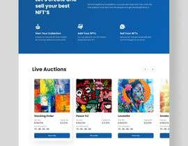 #38 for Design UX UI for NFT Marketplace af aaronrezha