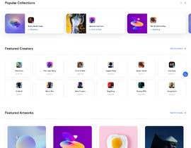 #35 for Design UX UI for NFT Marketplace af freelancersagora