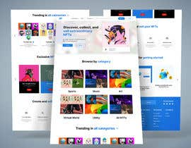 #50 for Design UX UI for NFT Marketplace af anamulhaque00