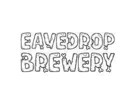 Nro 19 kilpailuun Eavesdrop Brewery Halloween Font käyttäjältä sajjadhossain25
