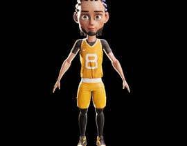 Nro 34 kilpailuun 3D Basketball/NFL Player (Chibi or Bobble Head Style) käyttäjältä tryingandtrying