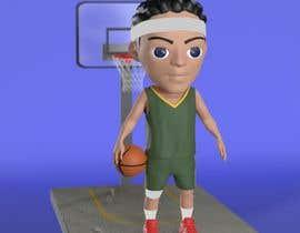 Nro 21 kilpailuun 3D Basketball/NFL Player (Chibi or Bobble Head Style) käyttäjältä wanilala