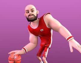Nro 22 kilpailuun 3D Basketball/NFL Player (Chibi or Bobble Head Style) käyttäjältä MosTafa1Ramadan