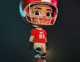 Nro 59 kilpailuun 3D Basketball/NFL Player (Chibi or Bobble Head Style) käyttäjältä TonmoyHumayun