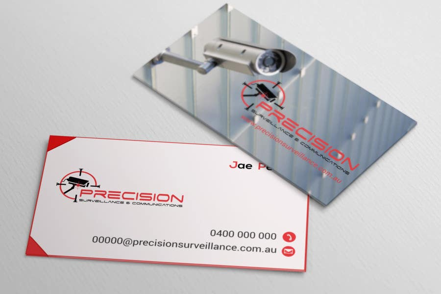 Contest Entry #                                        59                                      for                                         Design some Business Cards for CCTV installing company