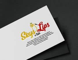 Nro 57 kilpailuun Sky's Lips n Sips Logo käyttäjältä farhanali34538