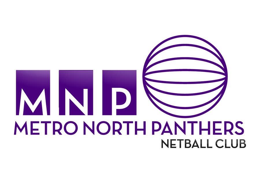 Kilpailutyö #6 kilpailussa Design a Logo for Netball Club