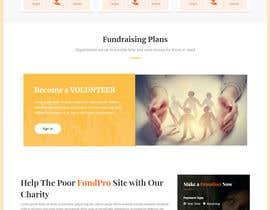 #27 for Website MOCK for a charity organization af mstsurminakter