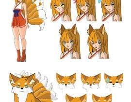 #29 cho Design A Kitsune Character bởi JohnGoldx