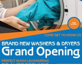 #75 for Flyer for Self Service Laundromat af safakabir