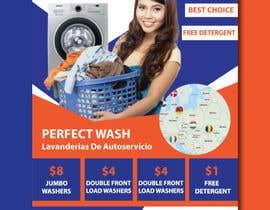 #70 for Flyer for Self Service Laundromat af designermastura