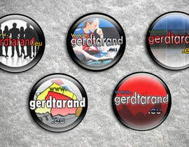 #25 para 5 Button Badge designs for a Personal/Political Blog por pochiu