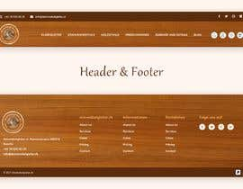 #26 for Header & Footer Design by Nibraz098
