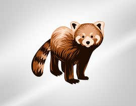 #22 for Design a red panda animal icon for embroidery by aghits