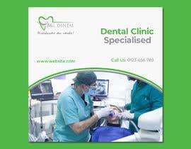 #57 untuk I need PSD templates for Facebook and Instagram for dental clinic posts oleh dgrmehedihasan