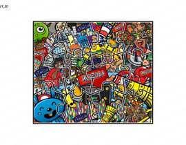 Nro 42 kilpailuun Design a modern abstract illustration for a puzzle käyttäjältä Muzeative