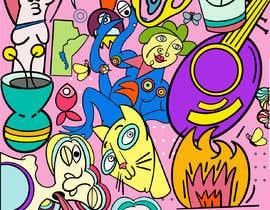 Nro 65 kilpailuun Design a modern abstract illustration for a puzzle käyttäjältä timajml98