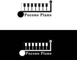 Nro 78 kilpailuun Piano Logo Design käyttäjältä kharoon300
