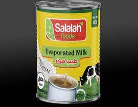 Nro 35 kilpailuun Packaging design for Evaporated Milk käyttäjältä shiblee10