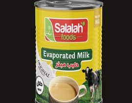 Nro 44 kilpailuun Packaging design for Evaporated Milk käyttäjältä shiblee10