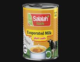 Nro 47 kilpailuun Packaging design for Evaporated Milk käyttäjältä shiblee10