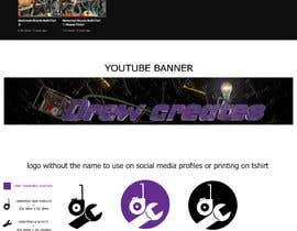 #501 for DrewCreates Logo af ahmedgeetar