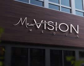 #107 untuk Mex vision media Logo oleh Jaben0