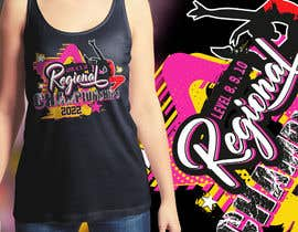 #220 cho Tshirt Design for Women's Gymnastics Championship bởi alaminexpert