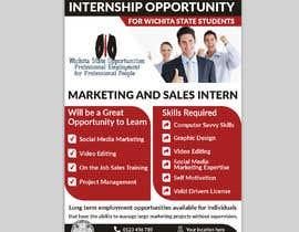 #120 para Flyer for interns por Jewelrana7542