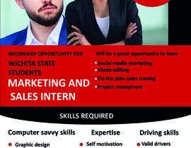 #22 para Flyer for interns por shishirahmed1239