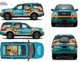#59 for Concept Vehicle wrap (think food truck) by tanotano