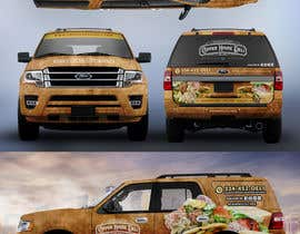 #74 for Concept Vehicle wrap (think food truck) by SAKTI2