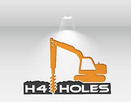 nº 218 pour H 4 Holes Logo Design par josnaa831