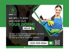 fatema4093 tarafından Design Dorm Cleaning Flier için no 59